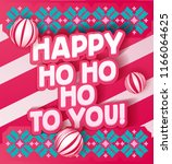 lettering made for new year... | Shutterstock .eps vector #1166064625