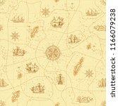 vector abstract seamless... | Shutterstock .eps vector #1166079238