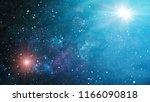 deep space. high definition... | Shutterstock . vector #1166090818