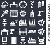 set of 25 icons such as truck ...