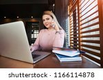 charming  business woman... | Shutterstock . vector #1166114878