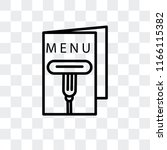 menu vector icon isolated on...