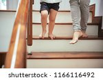 cropped image of mother and son ... | Shutterstock . vector #1166116492