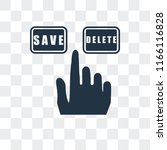 select vector icon isolated on... | Shutterstock .eps vector #1166116828