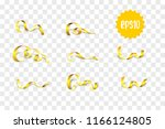 merry christmas and happy new... | Shutterstock .eps vector #1166124805