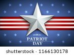patriot day. design for... | Shutterstock .eps vector #1166130178