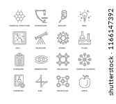 set of 16 simple line icons... | Shutterstock .eps vector #1166147392