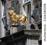 stirling  united kingdom  ... | Shutterstock . vector #1166180338