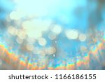 bokeh water glare   blurred... | Shutterstock . vector #1166186155