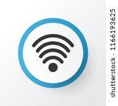 wifi icon symbol. premium...   Shutterstock .eps vector #1166193625
