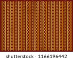 red background decorated with... | Shutterstock .eps vector #1166196442