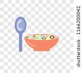 cereal vector icon isolated on... | Shutterstock .eps vector #1166200042