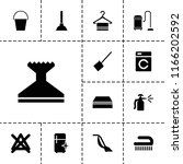 household icon. collection of... | Shutterstock .eps vector #1166202592
