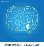 vector speech bubble with... | Shutterstock .eps vector #116620606