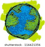 the world | Shutterstock .eps vector #116621356