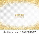 sparkling glitter border  frame.... | Shutterstock .eps vector #1166231542