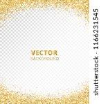 sparkling glitter border  frame.... | Shutterstock .eps vector #1166231545