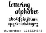 lettering alphabet for... | Shutterstock .eps vector #1166234848