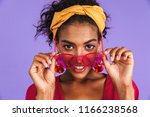close up portrait of a smiling... | Shutterstock . vector #1166238568