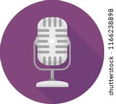 illustration of a microphone... | Shutterstock .eps vector #1166238898