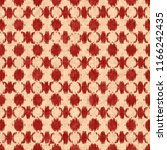 fractured checked motif in red... | Shutterstock . vector #1166242435