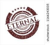 red eternal distress rubber... | Shutterstock .eps vector #1166243035