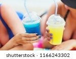 summer close up image of two...   Shutterstock . vector #1166243302