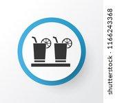 margarita icon symbol. premium... | Shutterstock .eps vector #1166243368