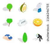 vitality food icons set.... | Shutterstock . vector #1166246755