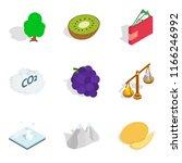 vital energy icons set.... | Shutterstock . vector #1166246992
