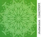 beautiful hand drawn indian... | Shutterstock . vector #1166255095