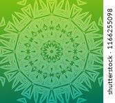 beautiful hand drawn indian... | Shutterstock . vector #1166255098