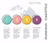 vector info graphics for your... | Shutterstock .eps vector #1166257012