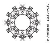 beautiful vector circular... | Shutterstock .eps vector #1166299162