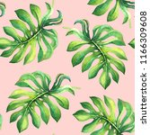 beautiful seamless pattern with ... | Shutterstock . vector #1166309608