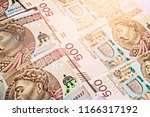 polish currency   denominated... | Shutterstock . vector #1166317192
