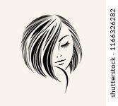 beauty and hair salon vector... | Shutterstock .eps vector #1166326282