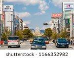 himeji  japan   april 2  himeji ... | Shutterstock . vector #1166352982