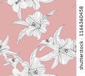 floral background. seamless... | Shutterstock .eps vector #1166360458