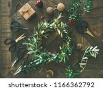 getting ready for christmas.... | Shutterstock . vector #1166362792