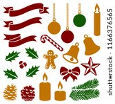 christmas winter holiday... | Shutterstock .eps vector #1166376565