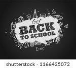 back to school concept.... | Shutterstock .eps vector #1166425072