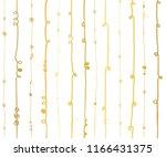 gold foil abstract vertical... | Shutterstock .eps vector #1166431375