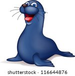 seal cartoon | Shutterstock .eps vector #116644876