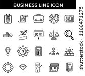 business icon set | Shutterstock .eps vector #1166471275