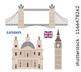 flat building of united kingdom ...   Shutterstock .eps vector #1166478262