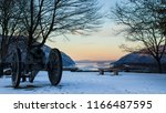 historic cannon overlooking the ...   Shutterstock . vector #1166487595