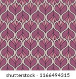 vector floral abstract seamless ... | Shutterstock .eps vector #1166494315