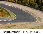 view on empty race track... | Shutterstock . vector #1166498008