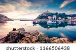 attractive morning cityscape of ... | Shutterstock . vector #1166506438